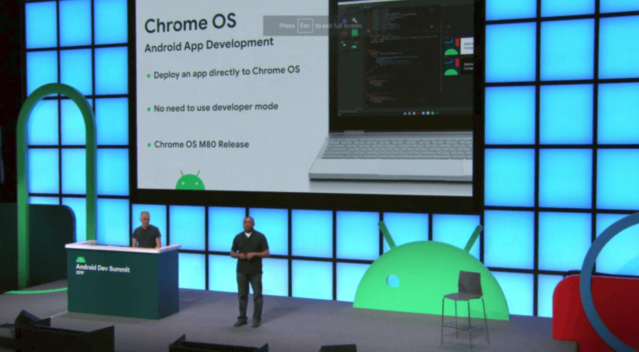 Chrome OS 80 將可以直接構建 Android 應用