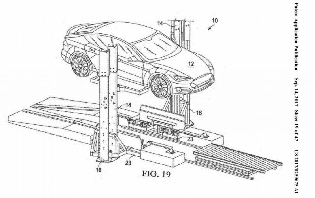 特斯拉「電池交換技術」新專利曝光,為將推出的電動連結車鋪路?