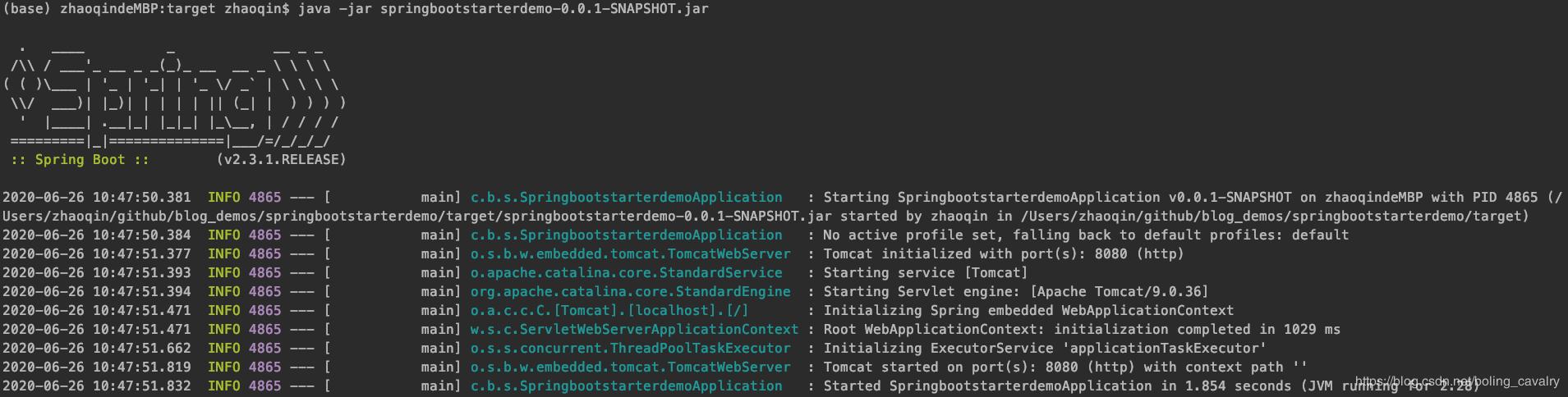 springboot的jar為何能獨立運行