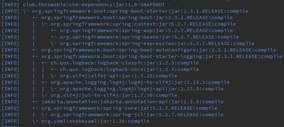 SpringBoot2.x的依賴管理
