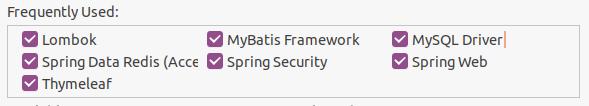 SpringBoot + Mybatis + Redis 整合入門項目