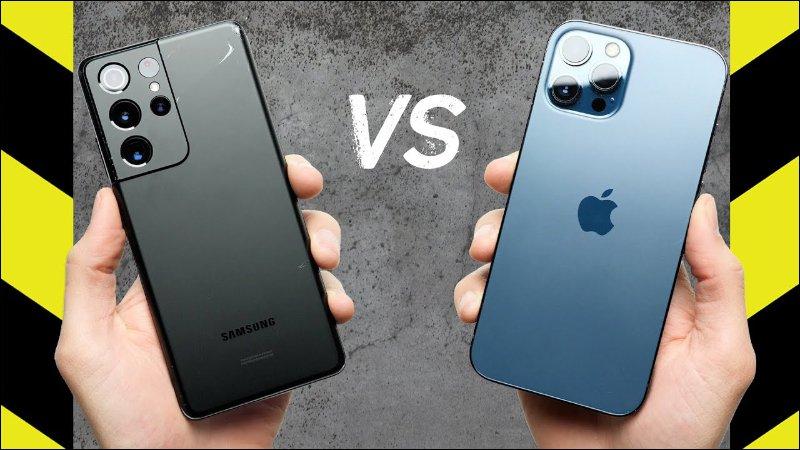 iPhone 12 Pro Max 對決三星 Galaxy S21 Ultra 跌落測試,究竟誰更耐摔?