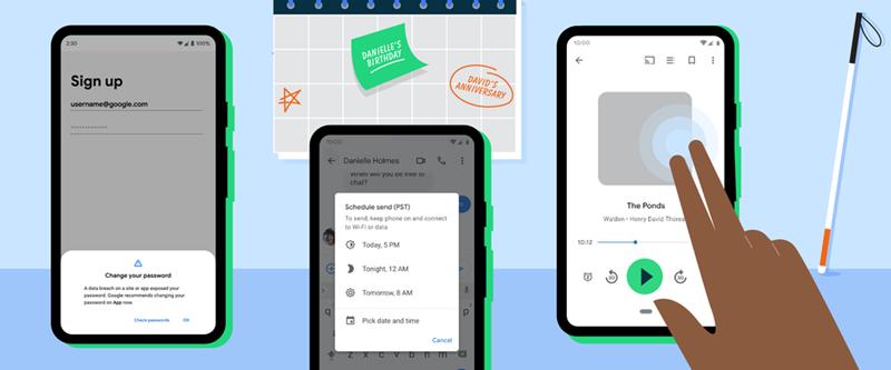 Google 公布 6 個 Android 全新實用功能,密碼檢查、Google Maps 深色主題等