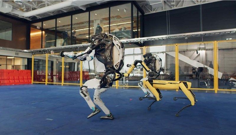 「Boston Dynamics」機器人公開跳舞影片 靈活動作接近真人_貨運