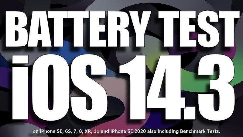 7 款 iPhone 舊型號 iOS 14.3 電池續航力測試影片,升級之後有變好嗎?(iPhone 11 結果讓人吃驚)_台中搬家公司