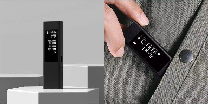 小米有品推出杜克LS5雷射測距儀:支持最大 40m 測距、Type-C快充,配備 OLED 全觸控螢幕,眾籌價約 428 元_台中搬家